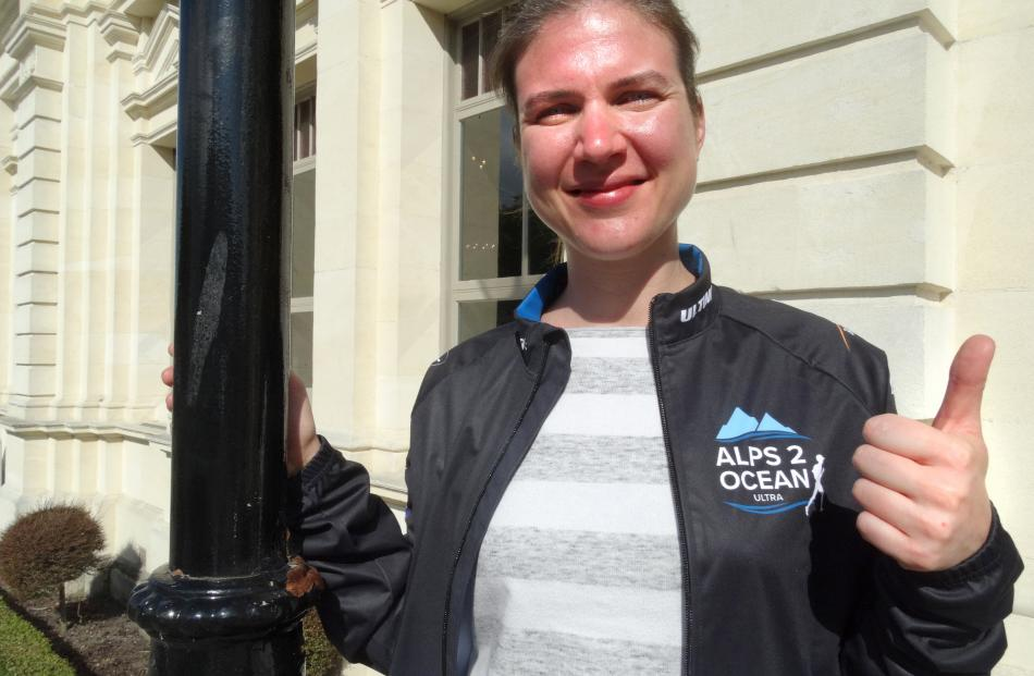 Alexandra Wittke, of Hong Kong, is excited about competing in her second Alps 2 Ocean Ultra...