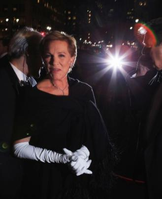 Julie Andrews arrives to attend the Princess Grace Awards Gala in New York. REUTERS/Lucas Jackson