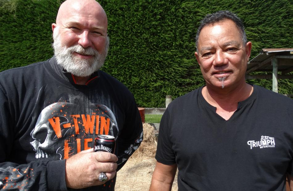 Paul Brady and Stuart Potts, both of Rolleston.