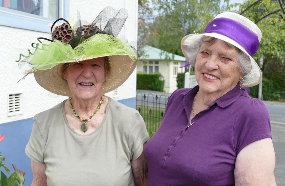 Dorothy Coburn and Shirley Finch, of Lawrence.