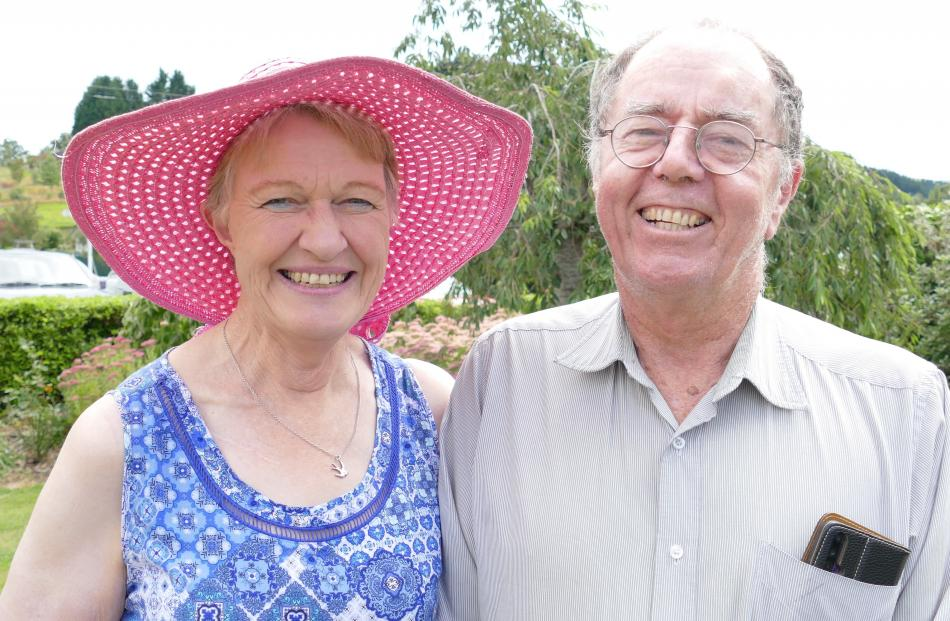 Sue and Tony Simpson, of Balclutha.