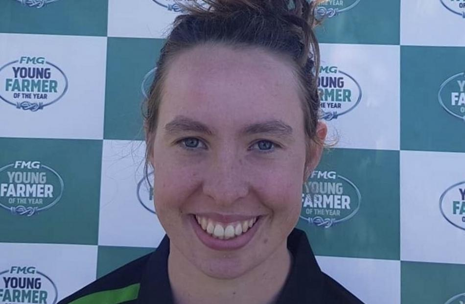 At 19, Lincoln University student Becky Rickard is the youngest regional finalist. Photos: New Zealand Young Farmers