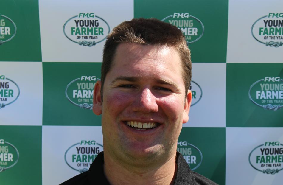 Jonny Brown is back for his second young farmer of the year Tasman regional final.