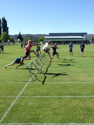 Relay runners.
