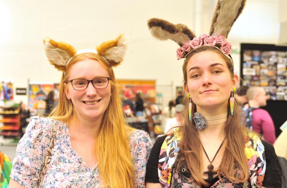 Sarah Robertson and Kaylie Black, both of Dunedin.