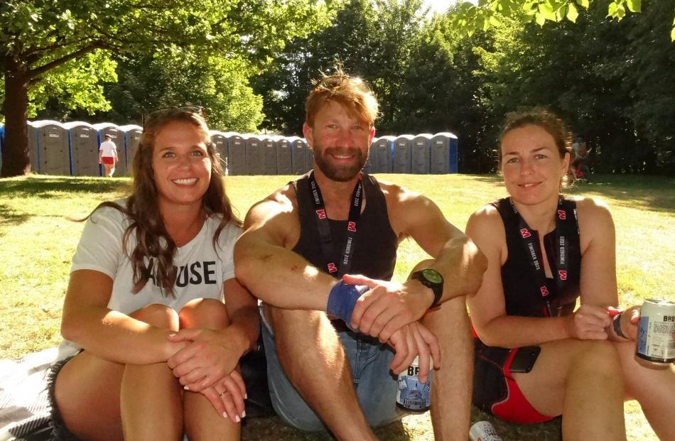 Madeline Braun, Scott Griffith, and Louise Clarke, all of Queenstown.
