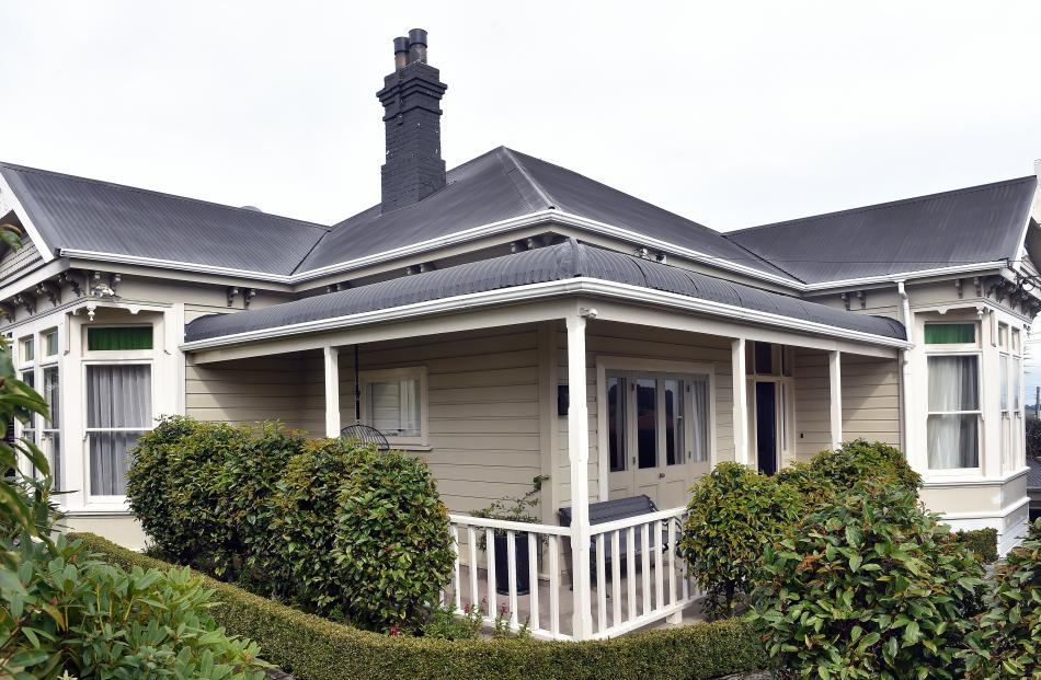 The owners of the Dunedin villa have renovated extensively but been careful to retain the...