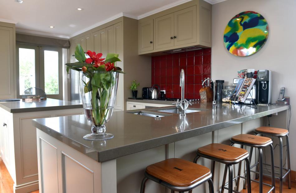 """A keen baker and cook, Mrs Chiles wanted a functional kitchen """"where everything was easy to..."""