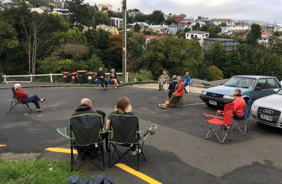 A neighbourhood happy hour in central Dunedin. PHOTO: PHILIP TEMPLE