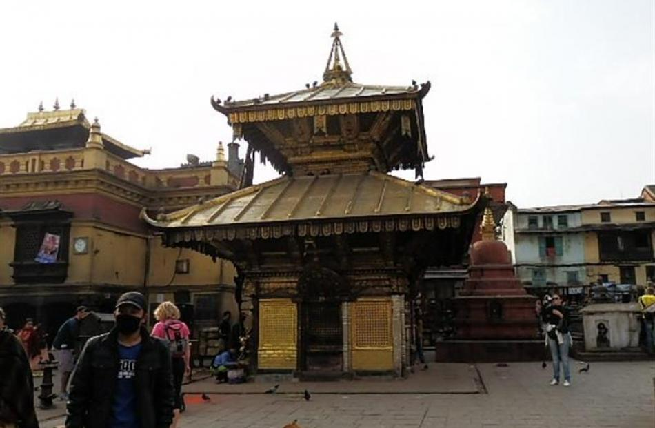 Some of the more architecturally impressive structures in Kathmandu.