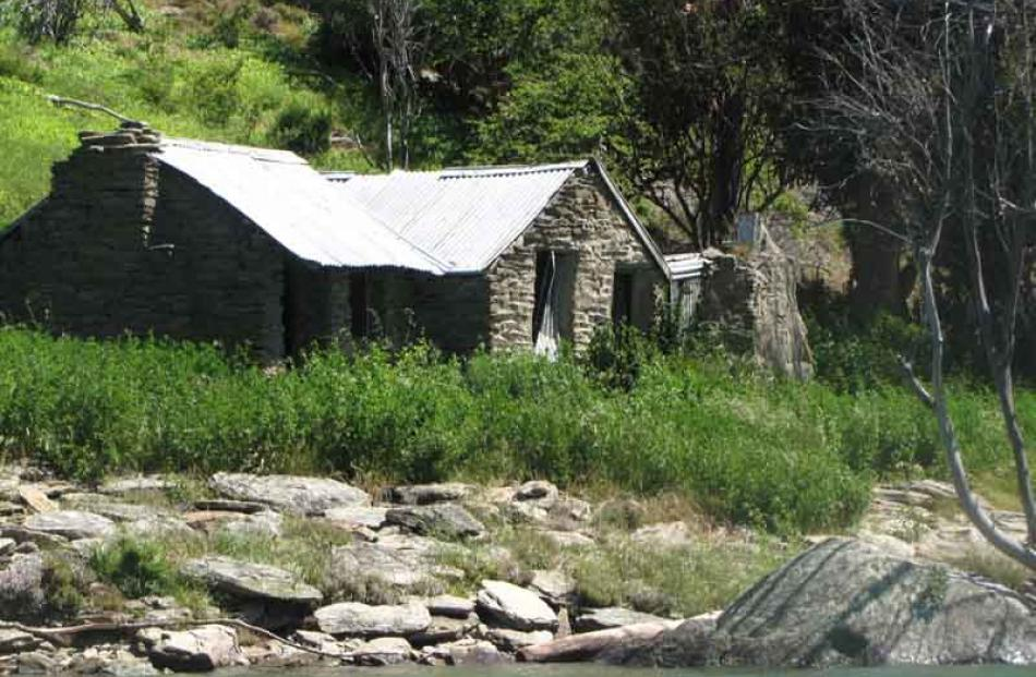 Mrs Herron's Cottage, on The Herrons station, farmed by the Miller family. At this stage, the...