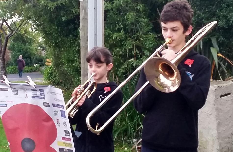 Benjamin (13) and Gemma (11) Pickering.