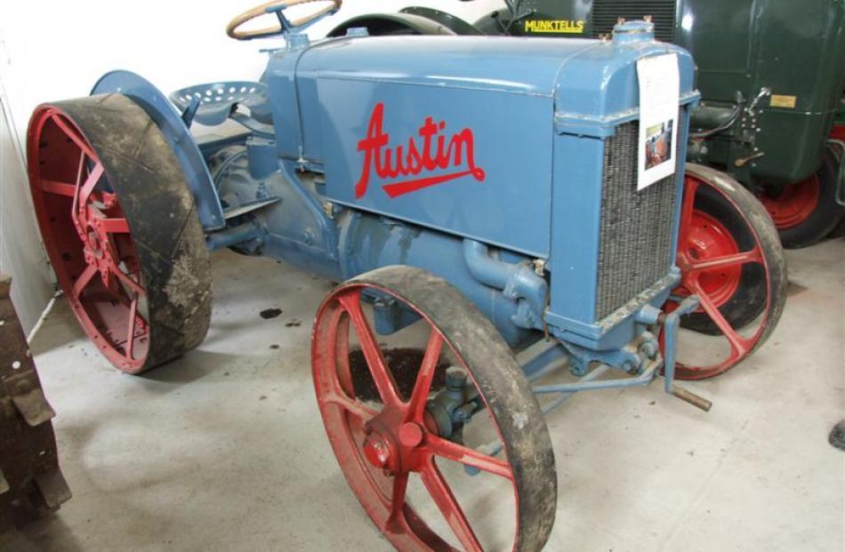 A 1920 Austin.