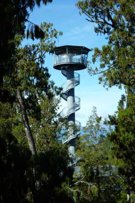 Get spectacular views from the Hokitika Tower.