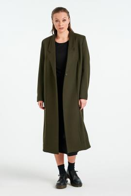 The Nyne Pearl Coat offers protection from the elements and the familiarity of your dressing gown...