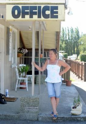 Waihola Camping Ground manager Mary-Jo Nardone would not be anywhere else these holidays.