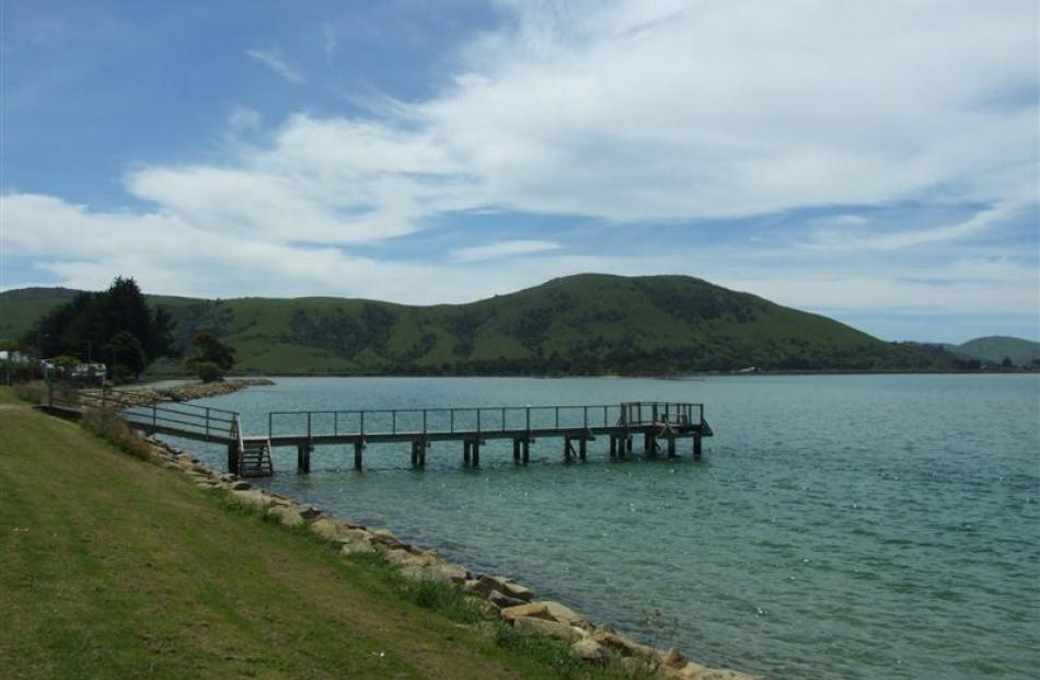 At the mouth of the Catlins River, Pounawea is a beautiful, calm spot.