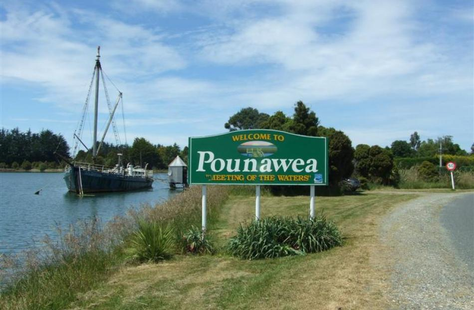 Portland, owned by a Catlins resident, has become part of the Pounawea scenery.
