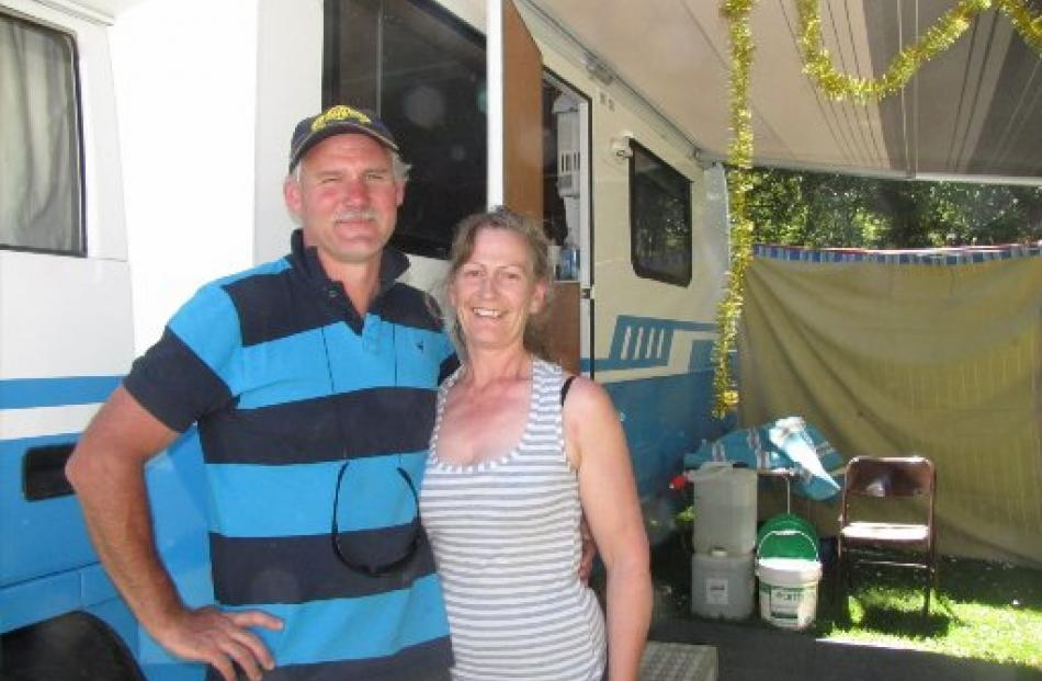 Alexandra couple Kevin and Lynley Dackers love Kidds Bush so much they got married there last...