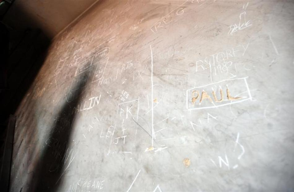 Examples of the graffiti found.