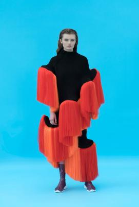 One of the pieces from Stina Randestad's Hybrids collection, which earned her the iD...