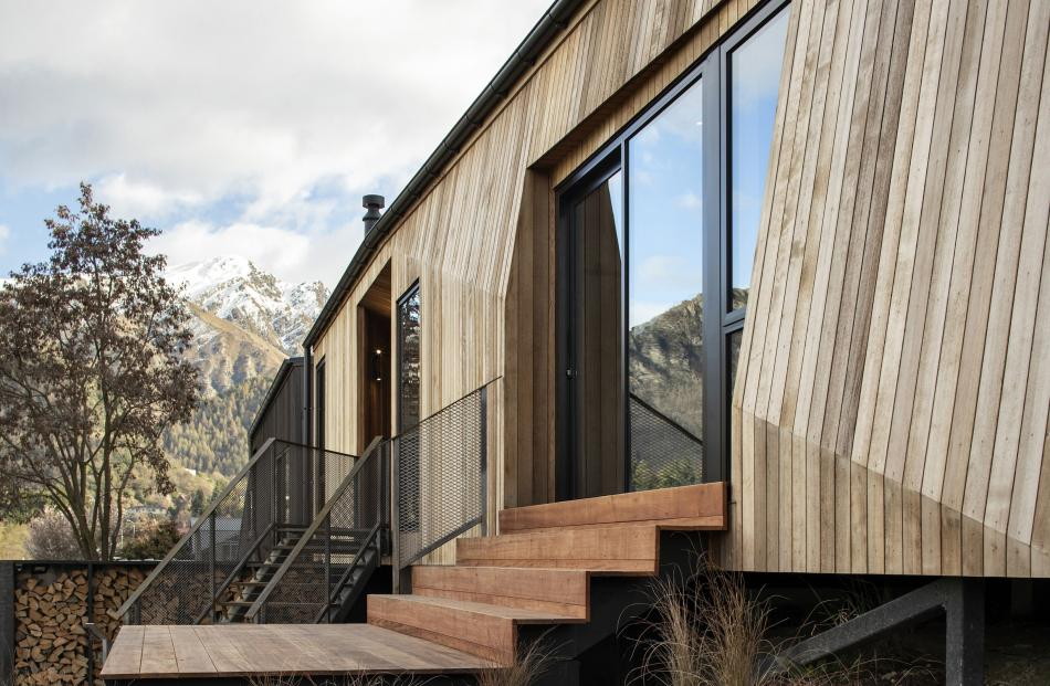 Arrowtown houses by Hofmans Architects.