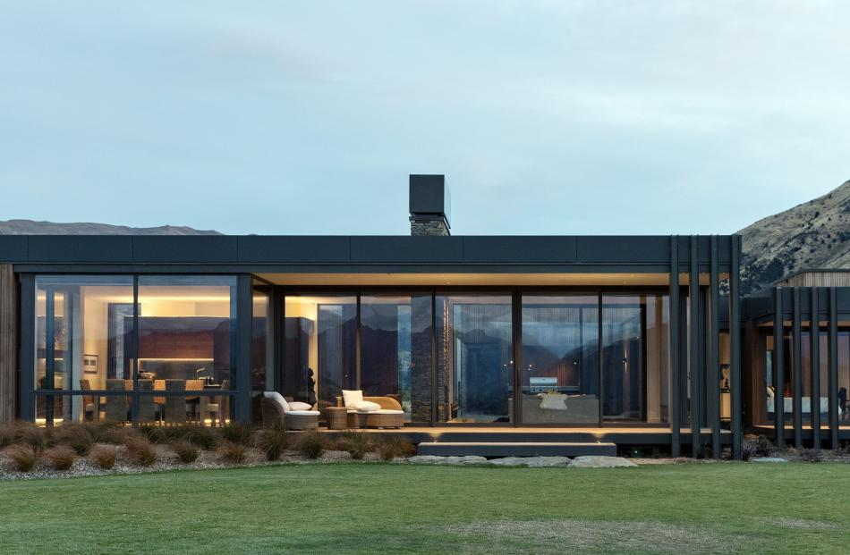 This Wanaka house by Three Sixty Architecture was among 23 projects to receive Southern...