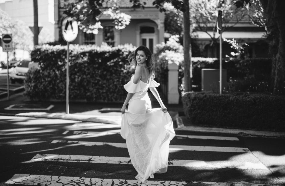 Hera Couture Barnett wedding dress from Novia Brides.