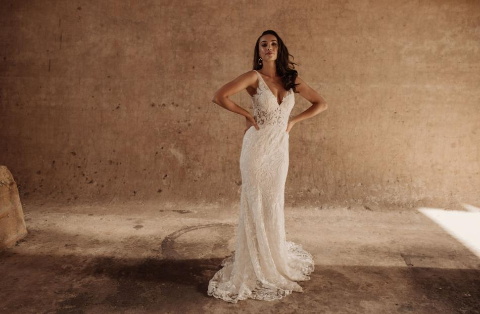 Hera Couture Bosset wedding dress from Novia Brides.