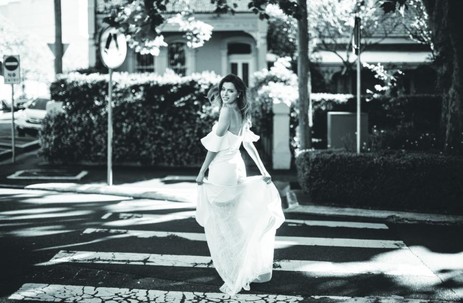 Hera Couture Barnett wedding dress from Novia Brides