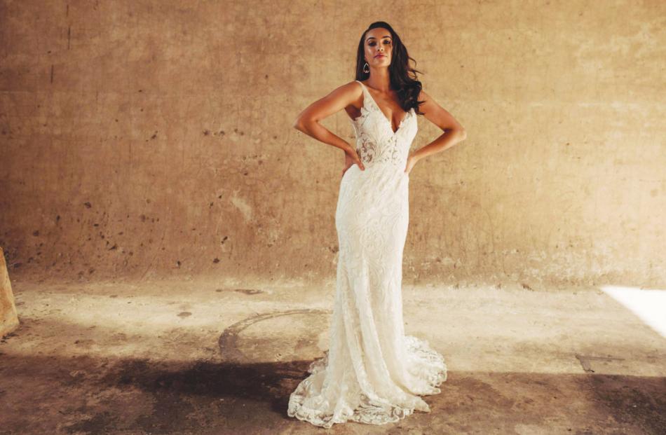 Hera Couture Bosset wedding dress from Novia Brides.