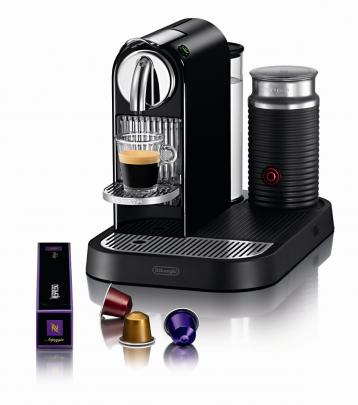 Delongi Nespresso automatic coffee machines available at Arthur Barnett.