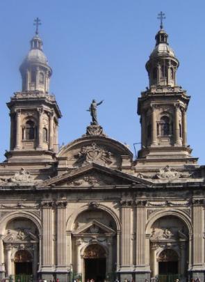 Church of San Francisco in Santiago