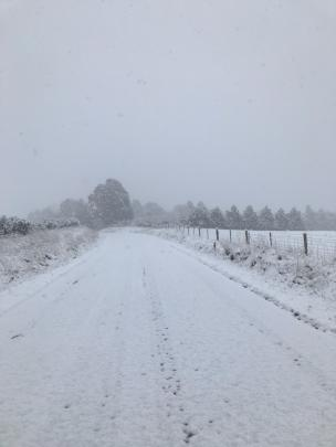 Moa Flat Road in Roxburgh. Photo: Central Otago District Council
