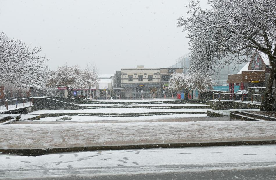 The Village Green in Queenstown. Photo: Tracey Roxburgh