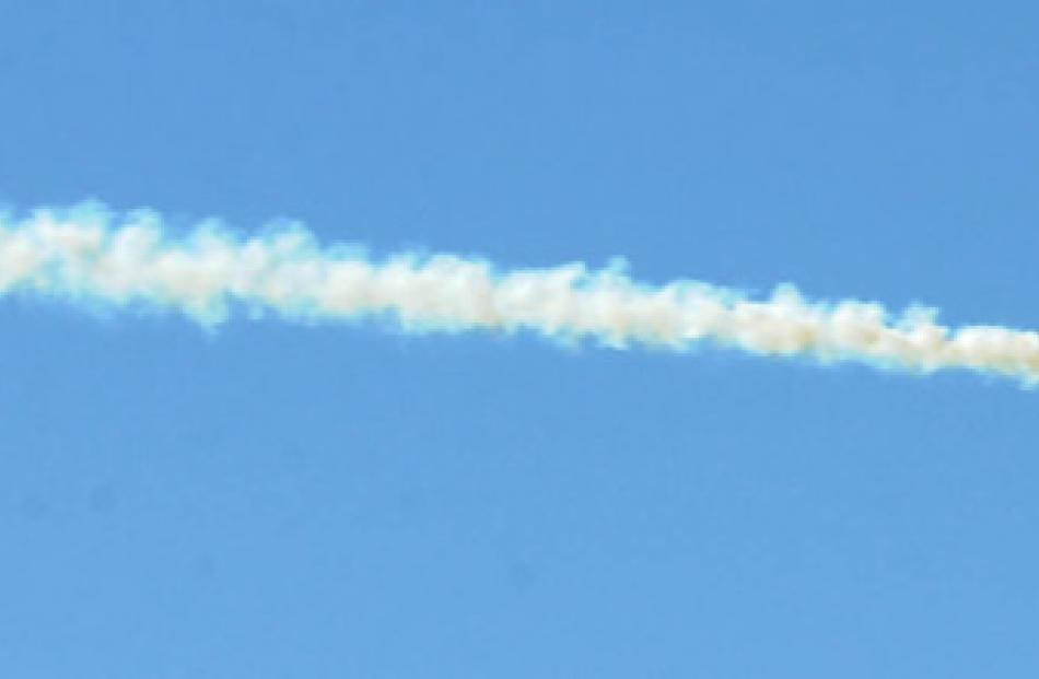 The MX2 in action during the Warbirds Over Wanaka 2012 Friday session.