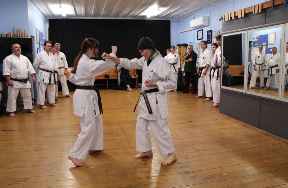 Emma & Lynley self defence.