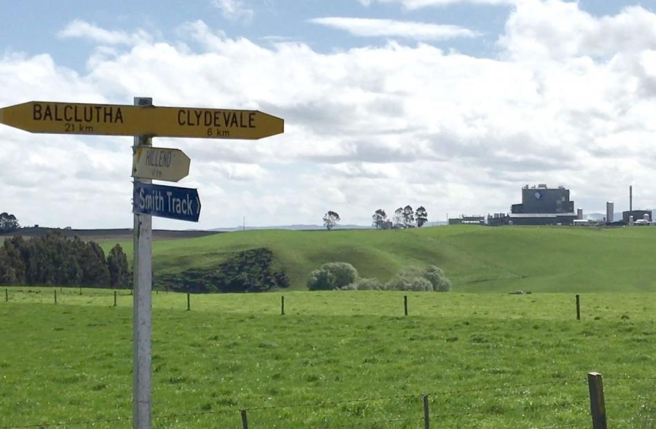 Danone's Clydevale milk powder plant sits in rolling dairy pasture about 23km from Balclutha in...
