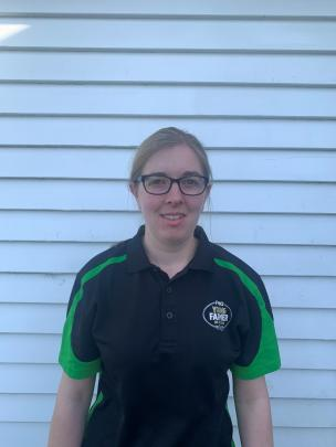 Roshean Woods has won herself a place in the Young Farmer of the Year Tasman regional final.