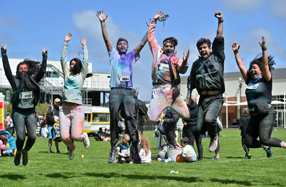 PhD students (from left) Zahra Rahmani, Mitra Darestani, Zohaib Amjad, Amir Amini, Parham...