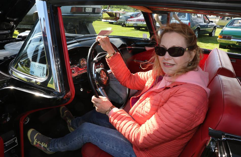 Ann Eustace, of Invercargill, said her very rare Ford Edsel Citation 2-door was a beautiful car...