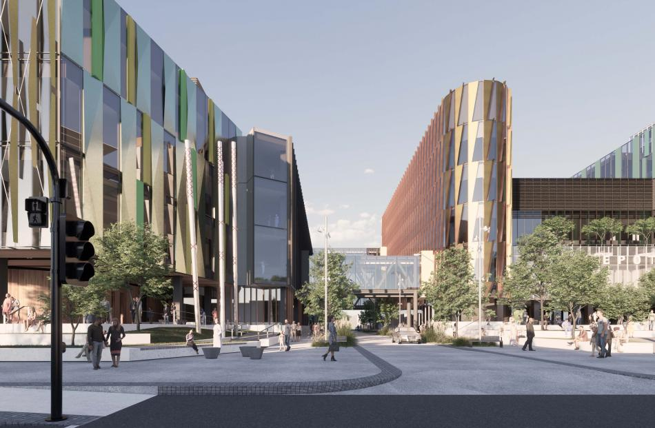 New concept design images for the hospital have been released. Photo: supplied