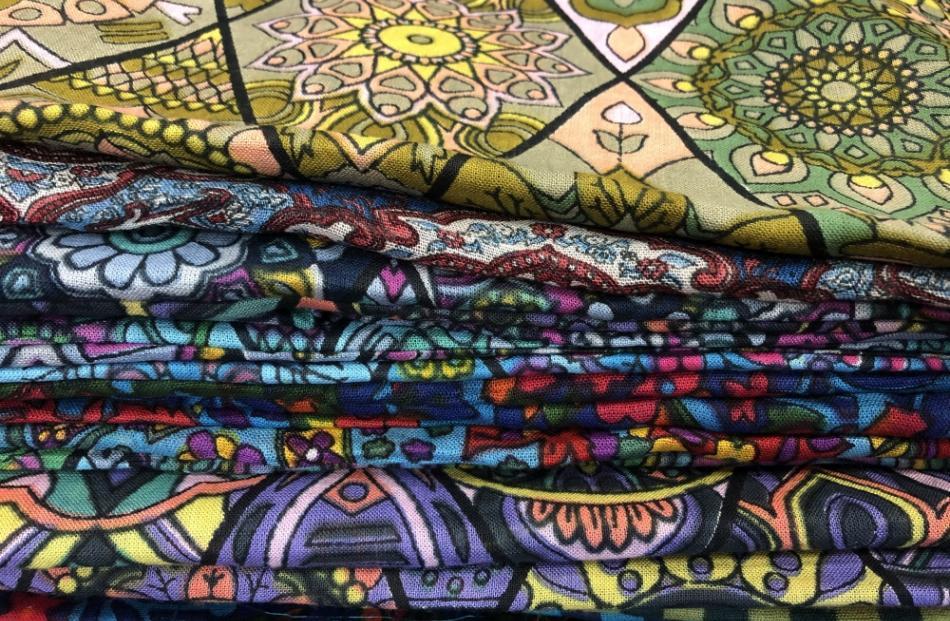 Stash of summer scarves