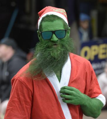 Even the Grinch turned up.