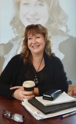 Former  Dunedin South MP Clare  Curran.  PHOTO: PETER MCINTOSH