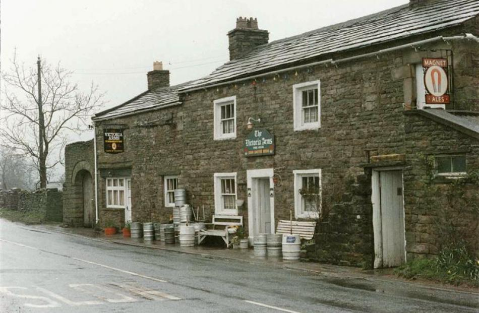 Visitors to the Yorkshire Dales can quench their thirst at any of the quaint village pubs.