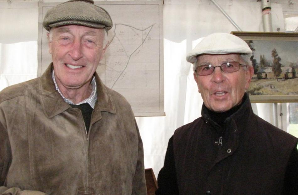Keith Barclay and Keith Baldwin, both of Wanaka.