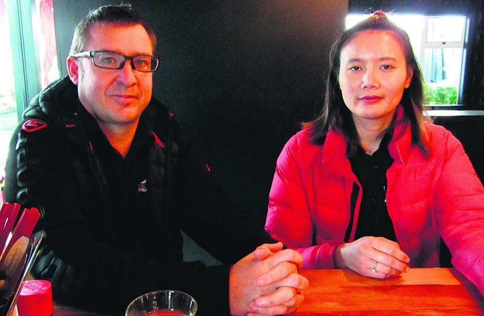 Business owners Jamie Caldwell and Gig Raksamart say any government support should be as much...