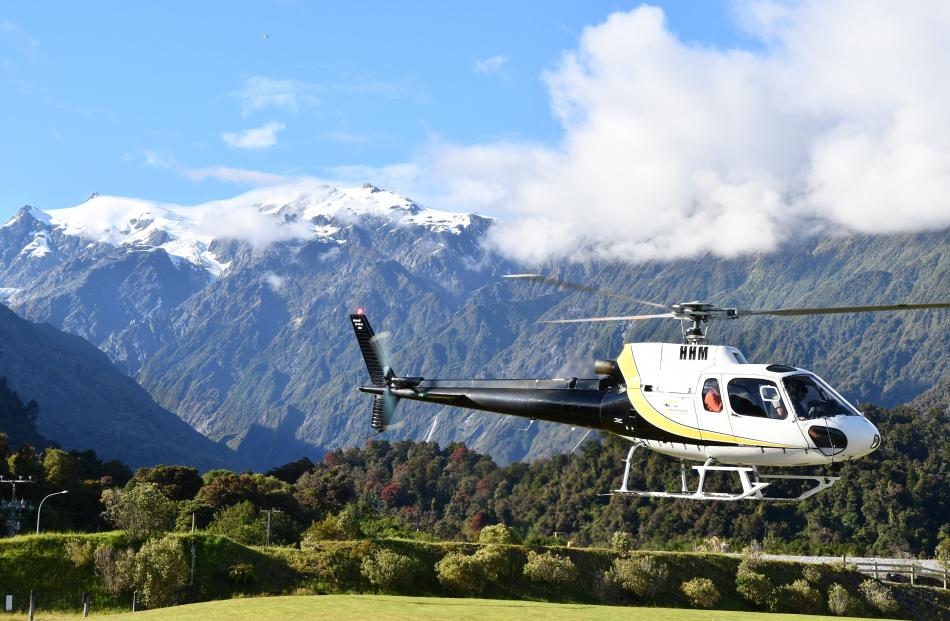 While days of cloudy skies had kept tourists from visiting the Franz Josef Glacier, Monday...
