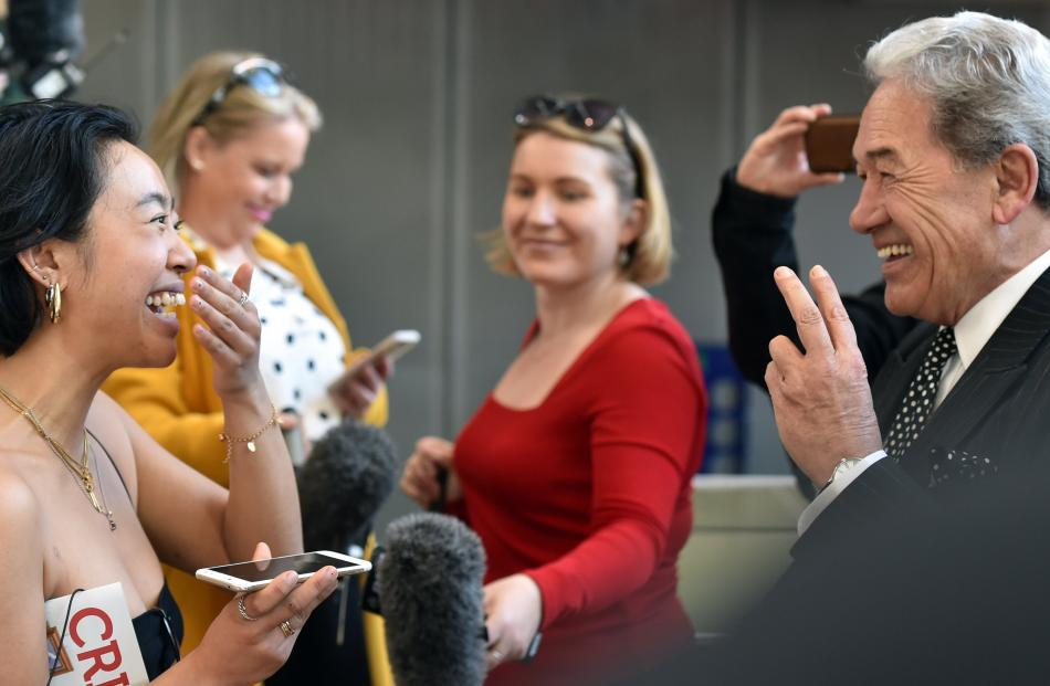 New Zealand First leader Winston Peters has a long-developed skill at communicating with voters....